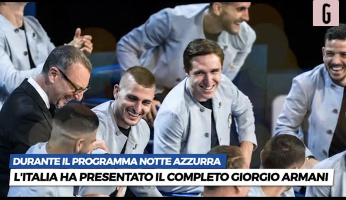 義大利隊歐國盃suit 俾人恥笑似廚師多過球員