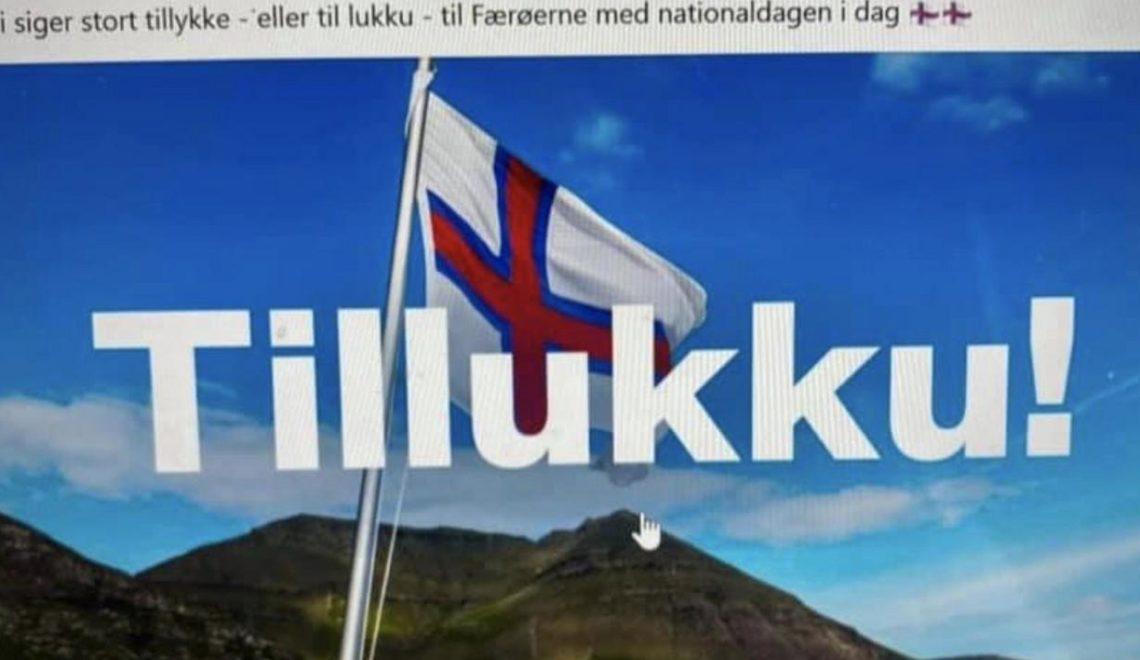 丹麥議會提早一個月恭賀法羅群島國慶