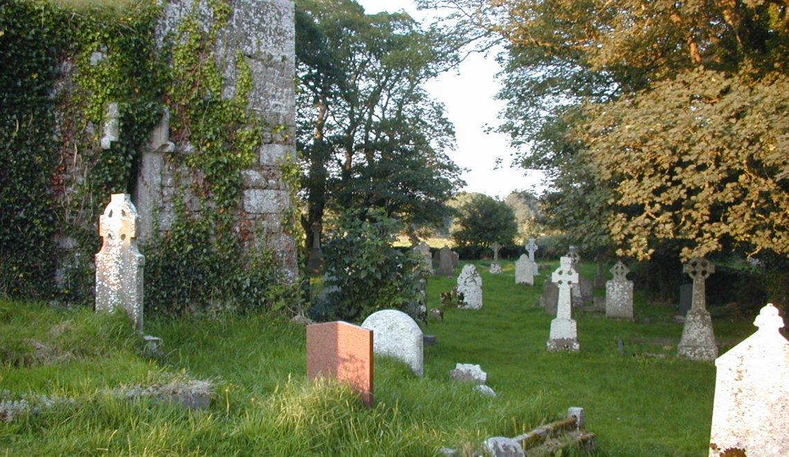 愛爾蘭幽閉 搞到墓碑都無