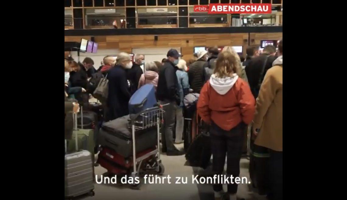柏林新機場 漢莎櫃位唔夠排到傻