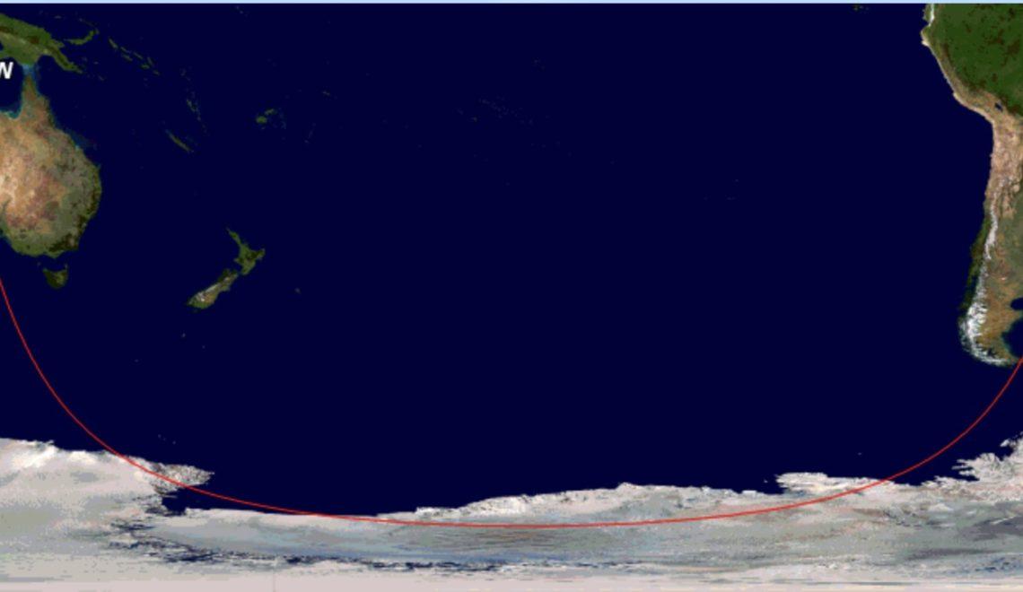 澳洲撤僑班機 阿根廷飛南極忽必烈航線