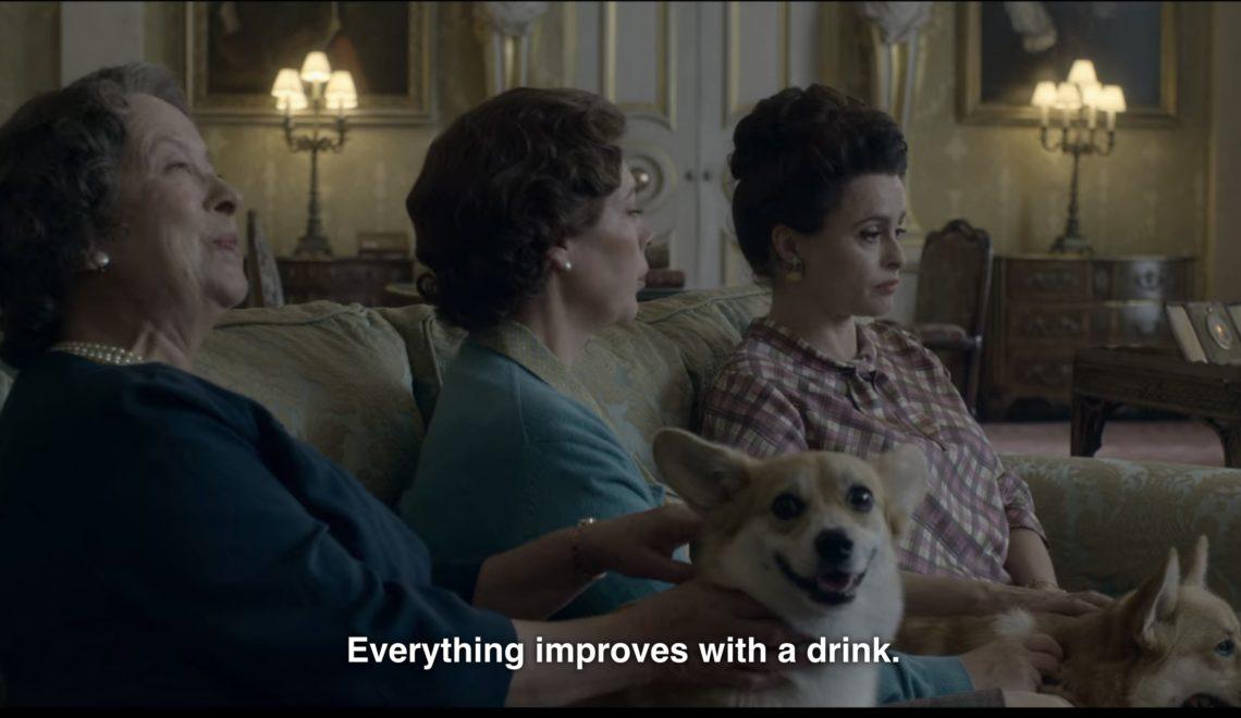 事頭婆要放棄每日飲乾馬天尼